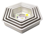 Hexagon Cake Tins