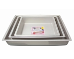 "4"" Deep Oblong Cake Tins"