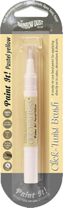 Rainbow Dust Pastel Yellow Click-Twist Brush Paint It!