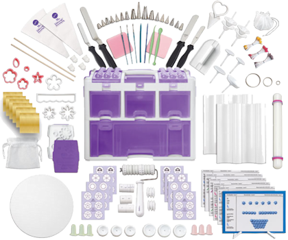 Wilton Ultimate Cake and Sugarcraft Decorating Set 177pc