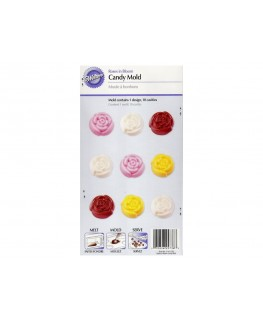 Wilton Wedding Roses In Bloom Candy Mould