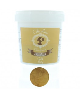 Claire Bowman Pearlised Gold Pre-Mixed Cake Lace 500g