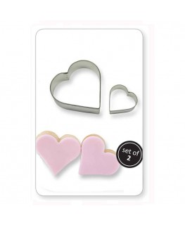 PME Cookie & Cake Heart Cutter 2pc