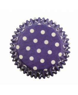 PME Blue Polka Dots Cupcake Cases 60pk