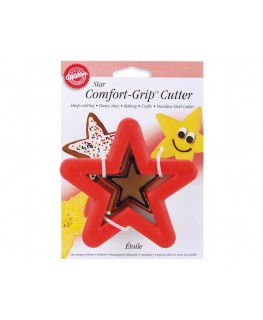 Wilton Star Comfort Grip Cutter 4""