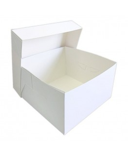 "Culpitt 10"" White Cake Box"