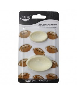 JEM Rugby Ball Easy Pops 2pc