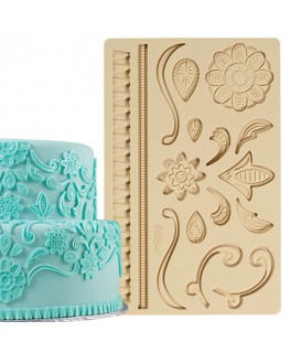 Wilton Lace Fondant/Gum Paste Mould