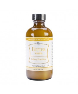 LorAnn Butter Vanilla Flavor, Bakery Emulsion - 118ml