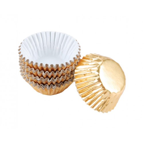 Wilton Gold Foil Mini Candy Cups