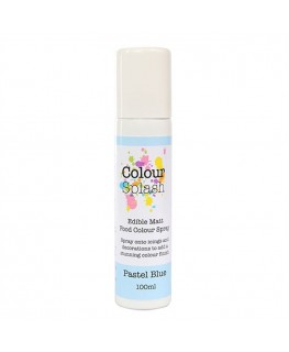 Colour Splash Edible Food Colour Spray Pastel Blue 100ml