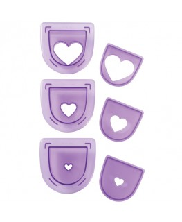 Wilton Layered Hearts Cutting Insert Set 3pc