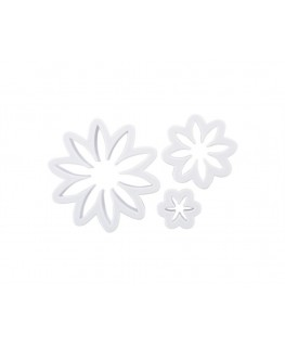 Wilton Daisy Cut-Outs (Plastic) 3pc