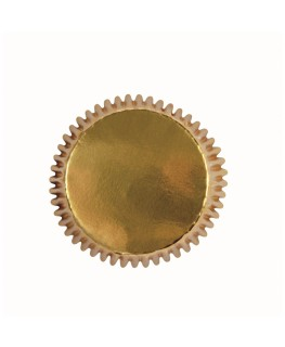 PME Gold Mini Cupcake Cases 45pk