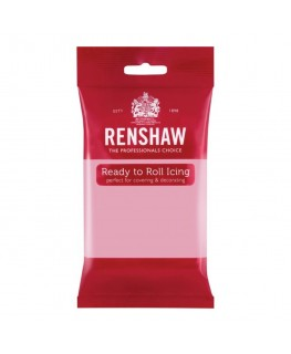 Renshaw Pink Ready To Roll Fondant Icing 250g