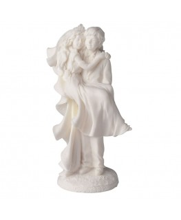 Culpitt Resin Just Married Bride and Groom