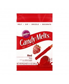 Wilton Red Candy Melts 340g