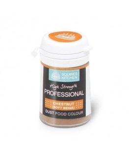 Squires Kitchen Professional Food Colour Dust Chestnut 4g