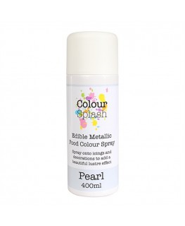 Colour Splash Edible Food Colour Spray Pearl 400ml