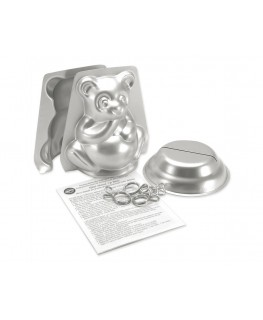 Wilton 3D Mini Stand-Up Bear Cake Pan
