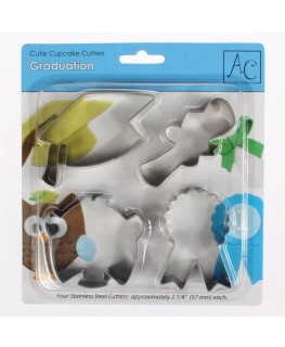 Autumn Carpenter Graduation Cutters Set 4 piece