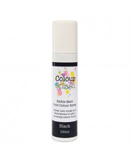 Colour Splash Edible Food Colour Spray Black 100ml