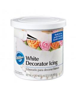 Wilton Decorator Icing White 450g