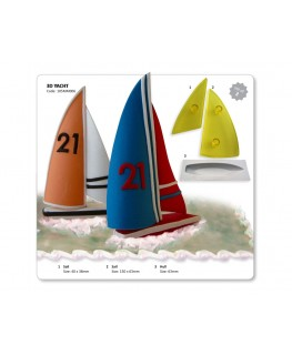 JEM 3D Yacht Cutter Set 3pc