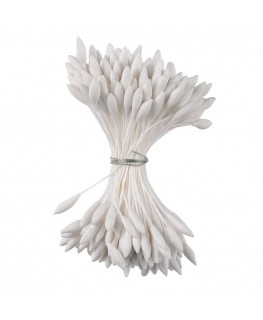 Culpitt White Long Pointed Dull Stamen