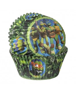 Wilton Teenage Mutant Ninja Turtles Cupcake Cases 50pk