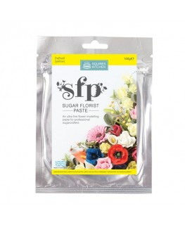 Squires Kitchen Sugar Florist Paste (SFP) Daffodil Yellow 100g