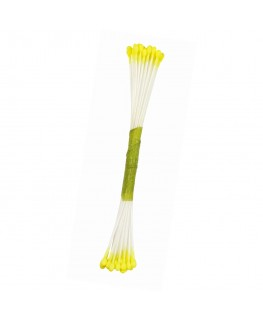 JEM Plain Stamen Fine - Lemon Yellow 50pk