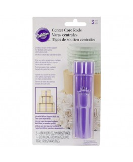Wilton Center Core Cake Rods 3pc