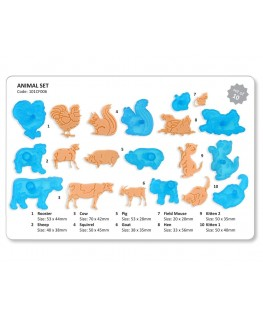 JEM Animals & Wildlife Cutter Set 10pc