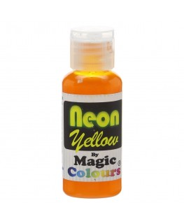 Magic Colours Neon Yellow Food Colouring 32g