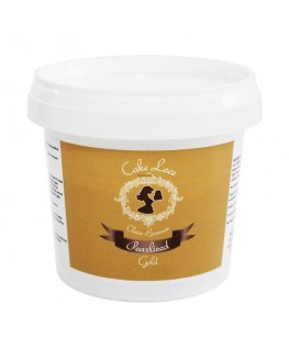 Claire Bowman Pearlised Gold Pre-Mixed Cake Lace 200g