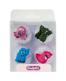 Culpitt Monsters Sugar Pipings 12pk