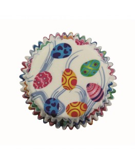 PME Decorative Eggs Cupcake Cases 60pk