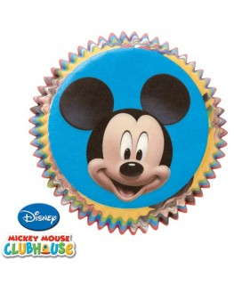 Wilton Mickey Mouse Cupcake Cases 50pk