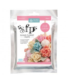 Squires Kitchen Sugar Florist Paste (SFP) Candy Pink 200g