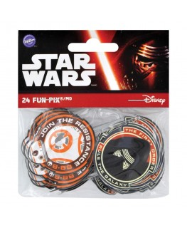 Wilton Star Wars The Force Awakens Fun Pix 24pk
