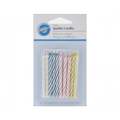 "Wilton ""Trick"" Religthing Candles 10pk"
