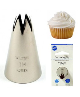 Wilton #1M Open Star Decorating Tip