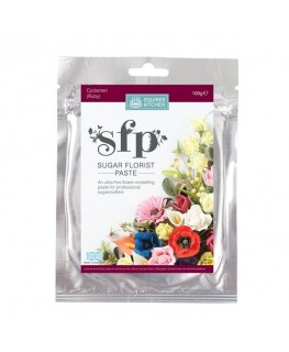 Squires Kitchen Sugar Florist Paste (SFP) Cyclamen Ruby 100g