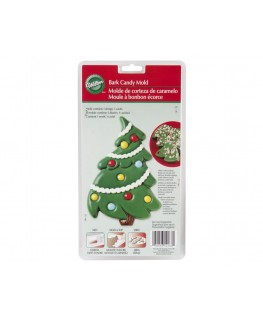Wilton Christmas Tree Bark Candy Mold