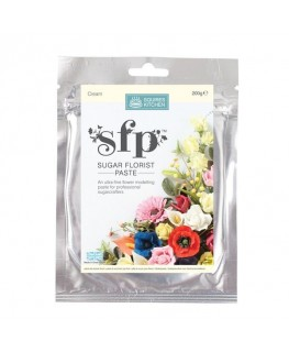 Squires Kitchen Sugar Florist Paste (SFP) Cream 200g