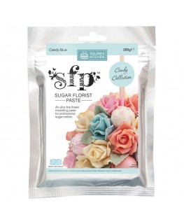 Squires Kitchen Sugar Florist Paste (SFP) Candy Blue 200q