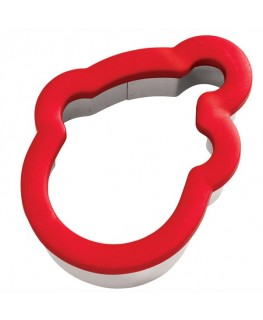 Wilton Santa Comfort Grip Cookie Cutter 4""