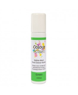 Colour Splash Edible Food Colour Spray Green 100ml
