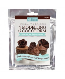 Squires Kitchen Modelling Cocoform Dark 150g